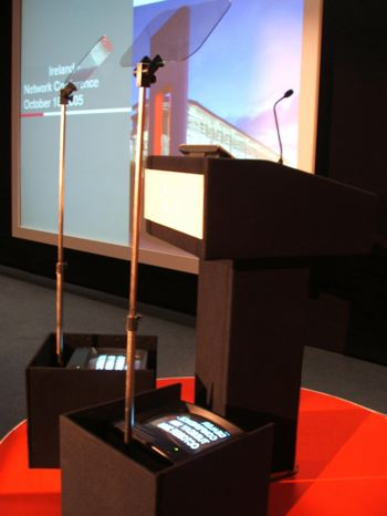 conference autocue, speechprompt, teleprompter